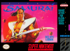 First Samurai Nintendo Super NES cover artwork