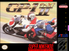 GP-1 - Part II Nintendo Super NES cover artwork