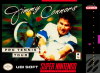 Jimmy Connors Pro Tennis Tour Nintendo Super NES cover artwork