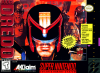 Judge Dredd Nintendo Super NES cover artwork