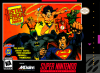 Justice League Task Force Nintendo Super NES cover artwork