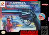Lethal Enforcers Nintendo Super NES cover artwork