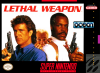 Lethal Weapon Nintendo Super NES cover artwork