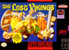 Lost Vikings, The Nintendo Super NES cover artwork