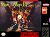 Might and Magic III - Isles of Terra Nintendo Super NES cover artwork