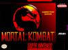 Mortal Kombat Nintendo Super NES cover artwork