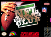 NFL Quarterback Club Nintendo Super NES cover artwork