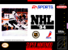 NHL '94 Nintendo Super NES cover artwork