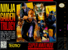 Ninja Gaiden Trilogy Nintendo Super NES cover artwork