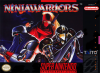 Ninja Warriors, The Nintendo Super NES cover artwork