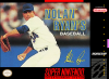 Nolan Ryan's Baseball Nintendo Super NES cover artwork