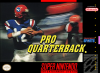 Pro Quarterback Nintendo Super NES cover artwork