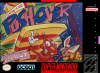 Push-Over Nintendo Super NES cover artwork