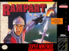 Rampart Nintendo Super NES cover artwork
