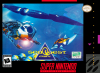 SeaQuest DSV Nintendo Super NES cover artwork