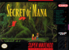 Secret of Mana Nintendo Super NES cover artwork