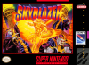 Skyblazer Nintendo Super NES cover artwork