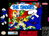 Smurfs, The Nintendo Super NES cover artwork