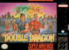 Super Double Dragon Nintendo Super NES cover artwork