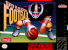 Super Play Action Football Nintendo Super NES cover artwork