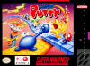 Super Putty Nintendo Super NES cover artwork