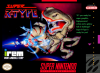 Super R-Type Nintendo Super NES cover artwork
