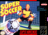 Super Soccer Nintendo Super NES cover artwork
