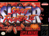 Super Street Fighter 2 - The New Challengers Nintendo Super NES cover artwork