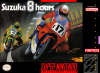 Suzuka 8 Hours Nintendo Super NES cover artwork
