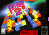 Tetris 2 Nintendo Super NES cover artwork