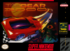 Top Gear 3000 Nintendo Super NES cover artwork