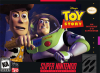 Toy Story Nintendo Super NES cover artwork