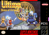 Ultima - Runes of Virtue II Nintendo Super NES cover artwork