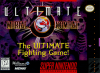 Ultimate Mortal Kombat 3 Nintendo Super NES cover artwork