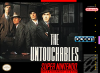 Untouchables, The Nintendo Super NES cover artwork