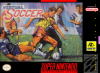 Virtual Soccer Nintendo Super NES cover artwork