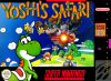 Yoshi's Safari Nintendo Super NES cover artwork