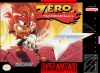 Zero the Kamikaze Squirrel Nintendo Super NES cover artwork