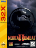 Mortal Kombat II Sega 32X cover artwork