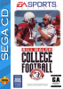 Bill Walsh College Football Sega CD cover artwork