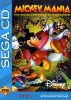 Mickey Mania - The Timeless Adventures of Mickey Mouse Sega CD cover artwork