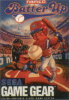 Batter Up Sega Game Gear cover artwork