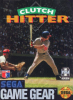 Clutch Hitter Sega Game Gear cover artwork