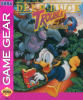 Deep Duck Trouble Starring Donald Duck Sega Game Gear cover artwork
