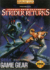 Journey from Darkness - Strider Returns Sega Game Gear cover artwork