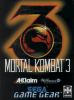 Mortal Kombat 3 Sega Game Gear cover artwork