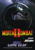 Mortal Kombat II Sega Game Gear cover artwork