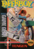Paperboy Sega Game Gear cover artwork