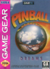 Pinball Dreams Sega Game Gear cover artwork