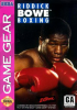 Riddick Bowe Boxing Sega Game Gear cover artwork